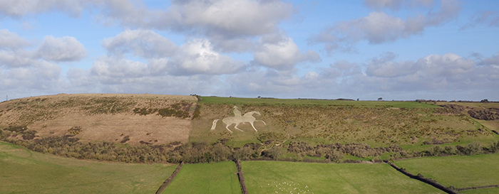 A Brief History of Weymouth - White Horse
